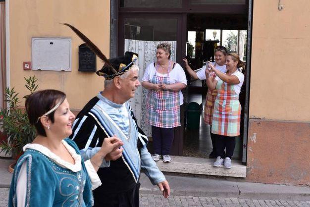 Ogni anno, la prima domenica di settembre, viene rivissuto questo rito (foto Frasca)