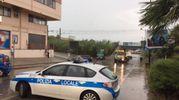 Porto Sant'Elpidio nuovamente colpita dal maltempo (foto Pettinari)