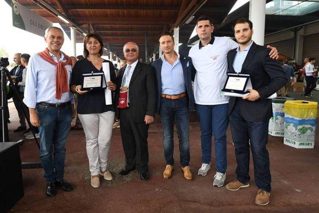 I due premiati (Foto Schicchi)