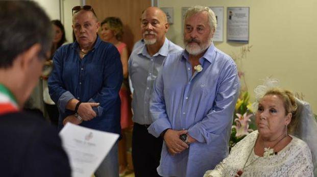 La cerimonia celebrata dal sindaco Gianluca Zattini (Foto Fantini)