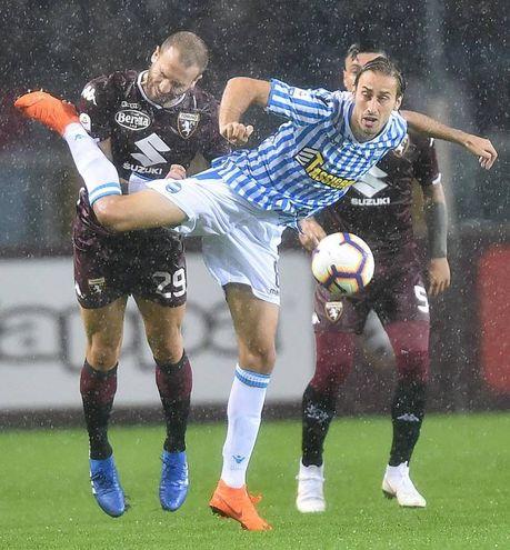 Un'azione sotto la pioggia