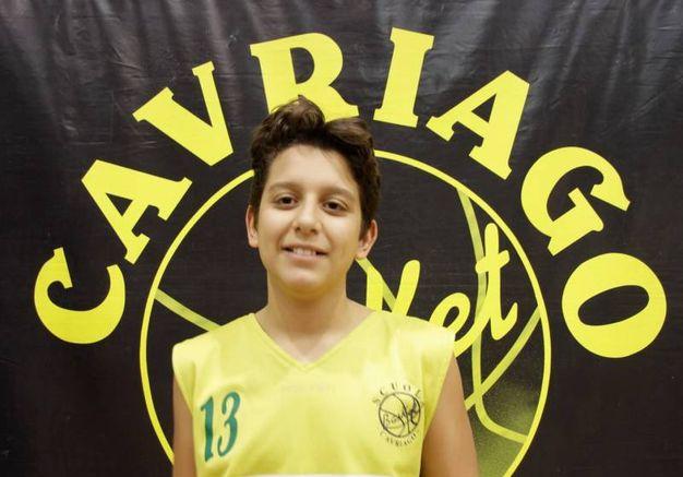 La vittima: Gabriele Tricola di 13 anni