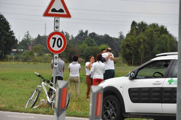 L'incidente è avvenuto intorno alle 15,30 (foto Artioli)