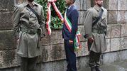 Doveroso peraltro l'omaggio, con le tradizionali corone d'alloro al Monumento della Brigata Maiella e a quello della Resistenza, alla Cappella Votiva di Sant'Ubaldo e in piazzale Collenuccio (FotoPrint)
