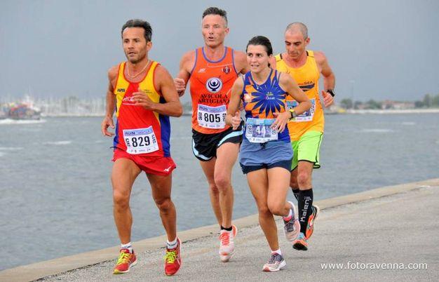 'Run in The Sea' a Marina Romea