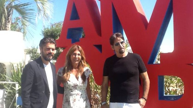 Matteo Baronetto, Angela Velenosi e Sandro Assenti