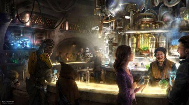 Il bar di Star Wars - Foto: instragram/disneyparksblog - Disney/Lucasfilm