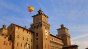 Si avvera il sogno di volare in mongolfiera (foto Ferrara Fiere)