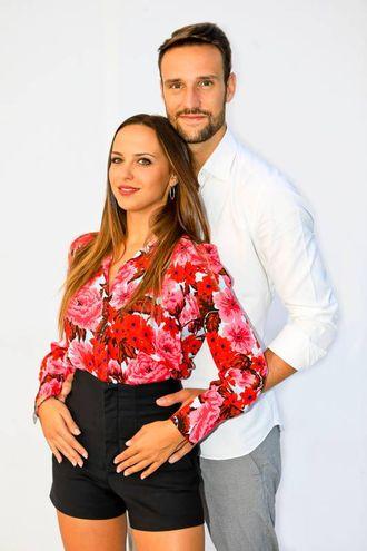 Andrea Zenga e Alessandra Sgolastra