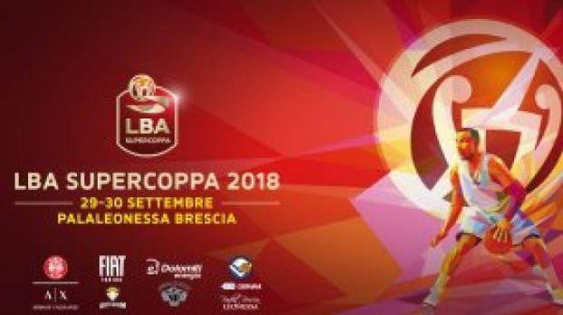 Il logo della Supercoppa 2018