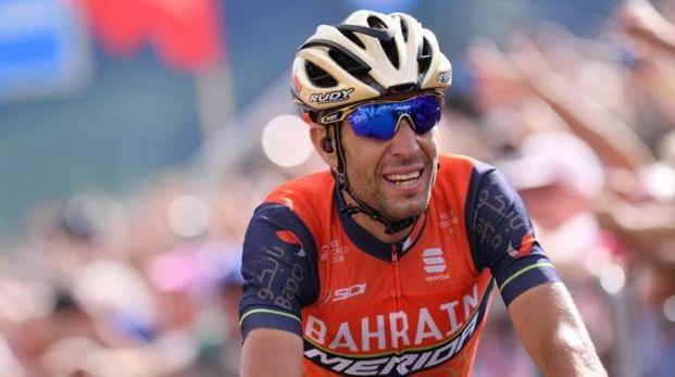 Vincenzo Nibali, uno dei grandi beniamini dei ciclisti toscani