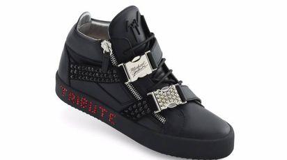La sneaker Giuseppe Zanotti dedicata a Michael Jackson