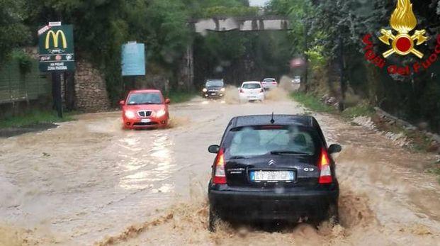 Previsioni meteo, nuove piogge al Nord. Foto: il Veronese sabato 1 settembre 2018 (Ansa)