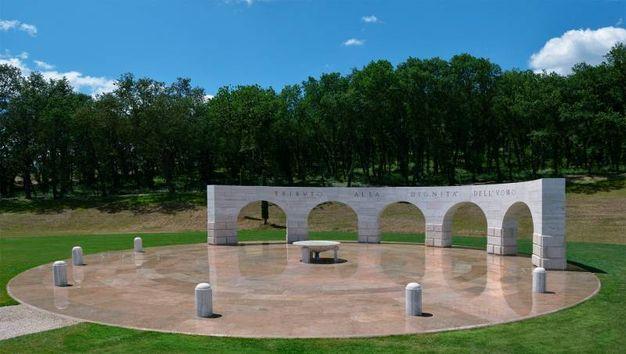 Solomeo, monumento alla Dignità dell'Uomo