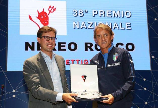 Il sindaco Nardella con Mancini (Fotocronache Germogli)