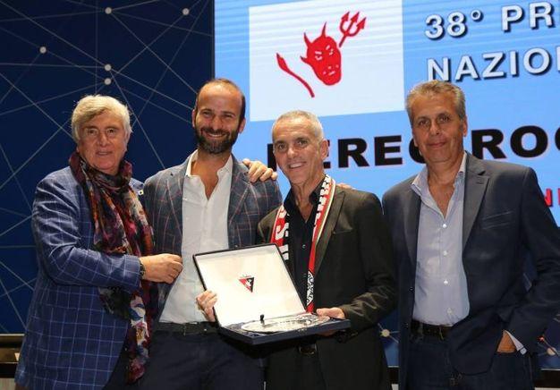 La premiazione di Federico Buffa (Fotocronache Germogli)