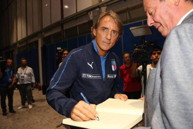 Il ct Mancini (Fotocronache Germogli)