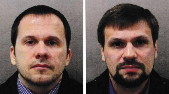 Alexander Petrov e Ruslan Boshirov (Ansa)