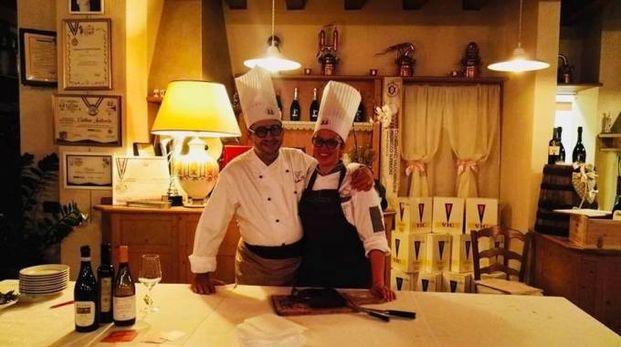 Gli Chef Emiliano Rossi e Cristina Andreola