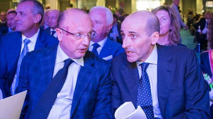 Vincenzo Boccia e Alberto Vacchi (FotoSchicchi)