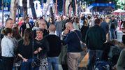 Moltissime persone si sono riversate nelle vie di Borgo San Giuliano (Foto Fabrizio Petrangeli)