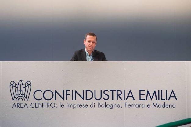Daniel Gros, direttore del Centre for European Policy Studies di Bruxelles (Foto Schicchi)