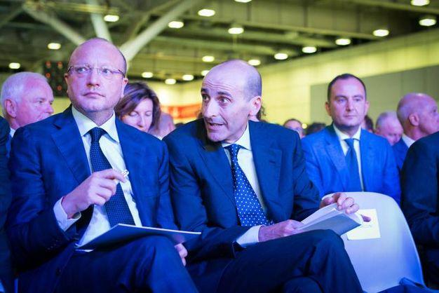 Vincenzo Boccia e Alberto Vacchi (Foto Schicchi)