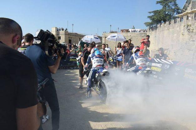 San Marino accoglie i piloti della Motogp