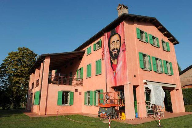 La casa museo di Pavarotti in stradello Nava (foto Fiocchi)
