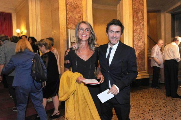 Una delle figlie di Luciano Pavarotti, Cristina (foto Fiocchi)