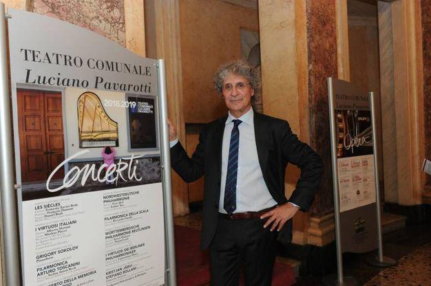 Aldo Sisillo, direttore del teatro Comunale (foto Fiocchi)