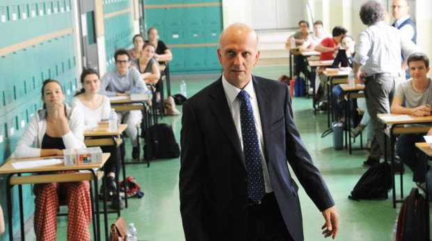 Marco Bussetti, ministro dell'Istruzione (Newpress)