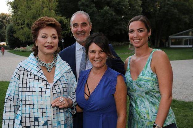 Maria Manetti, Elisa Piccini, Andrea Brogian e Isabella Traglio di Vhenier