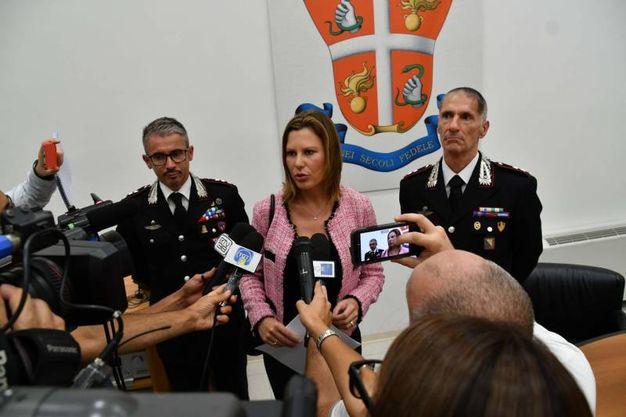 Arresti per assenteismo, la conferenza stampa dei carabinieri (foto Nizza)