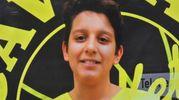 Gabriele tricola, 13 anni, grande appassionato di basket (foto Artioli)