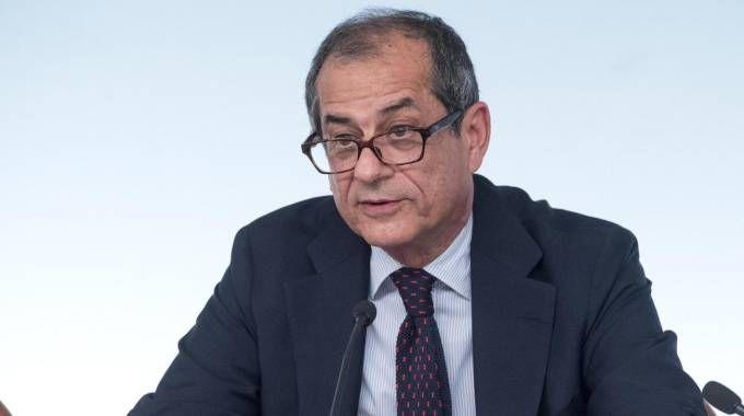 Il ministro dell'Economia e delle Finanze, Giovanni Tria (Ansa)