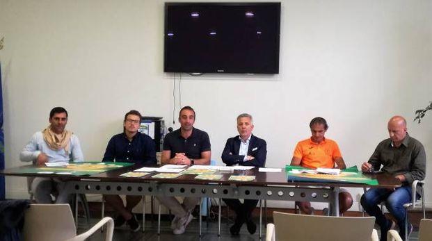 La presentazione della festa della birra con il sindaco Pierluigi Peracchini