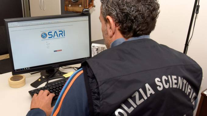 Il programma 'Sari' in uso alla Polizia scientifica