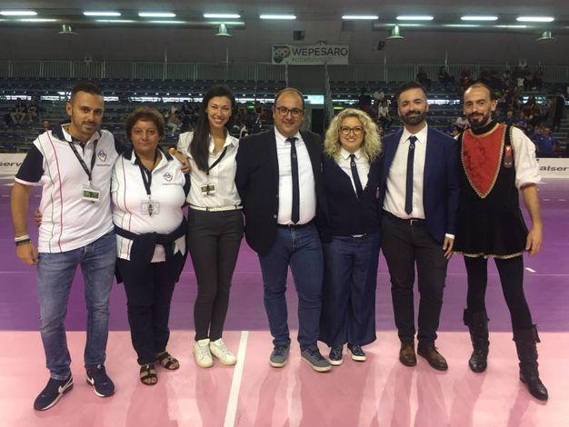 Gli organizzatori (foto Angelica Panzieri)