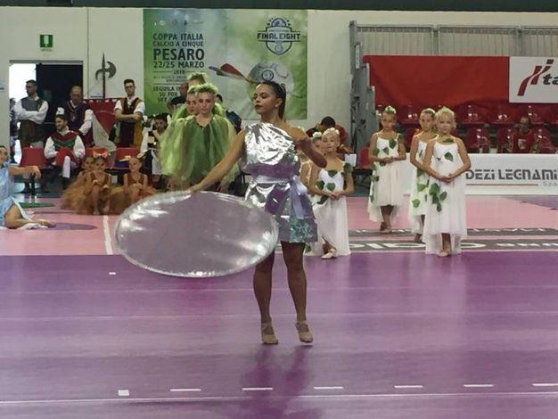 Un momento della cerimonia di apertura (foto Angelica Panzieri)