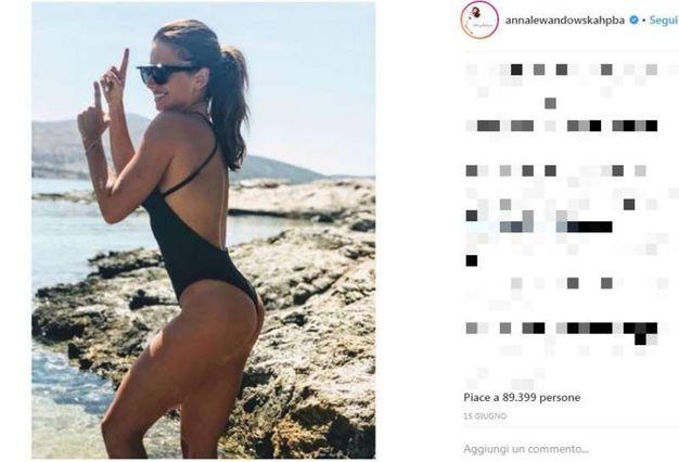 Anna Lewandowska (Instagram)