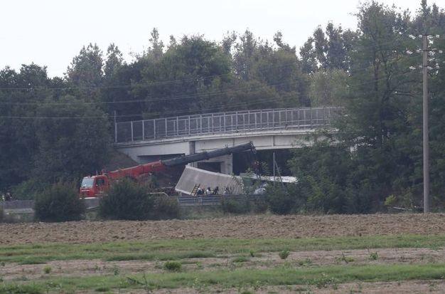Il luogo dell'incidente (Foto Schicchi)