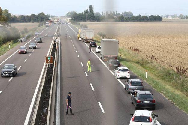 Traffico paralizzato (Foto Schicchi)