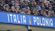 Tribuna d'onore al Dall'Ara per Italia-Polonia (fioto Schicchi)