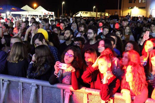 Il pubblico al Warehouse Festival
