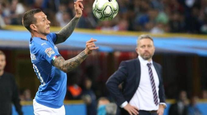 Federico Bernardeschi in maglia azzurra contro la Polonia