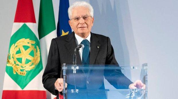 Il presidente della Repubblica, Sergio Mattarella (Lapresse)
