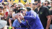 Selfie con i fan per Valentino Rossi
