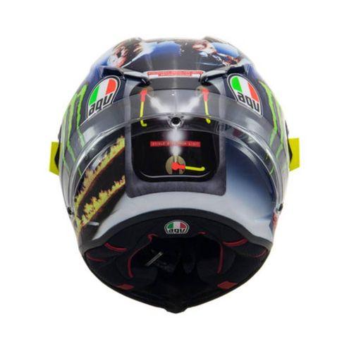 Il retro del casco