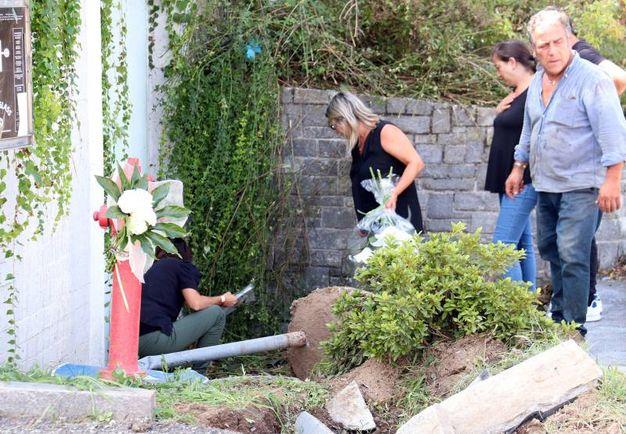 Incidente a Guanzate, il luogo dello schianto (foto Cusa)